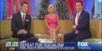 Fox And Friends Laud The 'Defeat For Socialism' In France