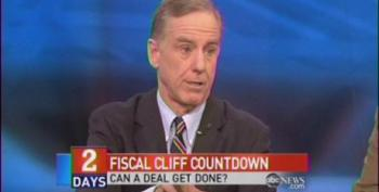 Dean: If We Go Over Cliff, Dow Will Be At 15,000 In 6 Months