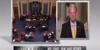 Rep. Steve Israel: Republicans Questioning Clinton Concussion Think Moon Landing Was Staged Too