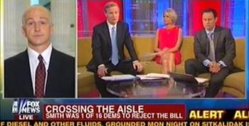 Dem Lawmaker Laughs While Schooling 'Fox And Friends' For Fiscal Cliff Spin