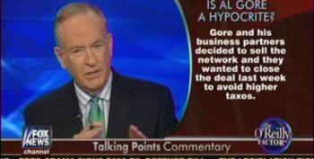 O'Reilly Attacks Al Gore For Current TV Sale To 'Anti-American' Al Jazeera