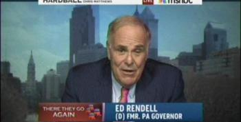 Corporate Shill Rendell Attacks MSNBC Hosts For Disagreement Over Raising Medicare Age