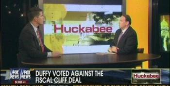 Huckabee Paints Rep. Duffy And Obstructionist House Members As Acting Responsibly