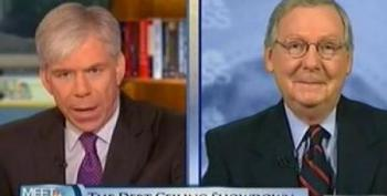 McConnell: Obama Will Be 'Dragged Kicking And Screaming' To Get Spending Cuts