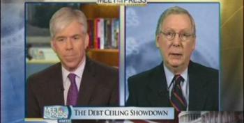 David Gregory Allows Mitch McConnell To Downplay Dangers Of Defaulting On Our Debt