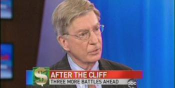 George Will: Fiscal Cliff Beginning Of The Decline Of Liberalism