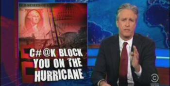 Jon Stewart Slams House Republicans For Opposing Hurricane Sandy Relief