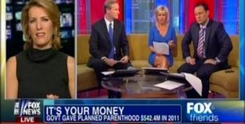 Fox Pretends Planned Parenthood Spent $542M On Taxpayer-Funded Abortions