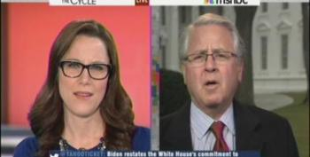 S.E. Cupp Can't Answer Howard Fineman When Asked Why Civilians Need Assault Rifles