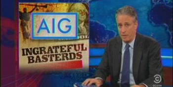 Jon Stewart Lays Into 'Disgraced Financial Institutions' HSBC And AIG