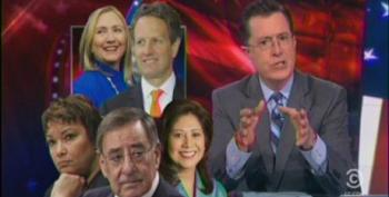 Colbert Goes After Obama For His 'Failed Second Term'