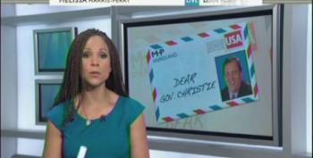 Melissa-Harris Perry Tells Chris Christie To 'Pump His Brakes' On 2016