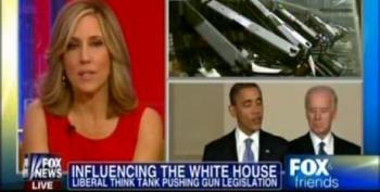 Fox Fear Mongers About Center For American Progress' Input On Gun Control
