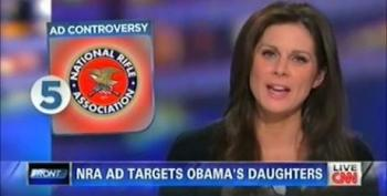 Erin Burnett Defends NRA With Clinton Family Photo: 'Politicians Use Their Kids All The Time'