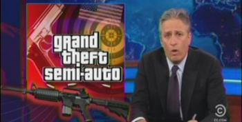 Jon Stewart Takes Wingnuts Apart For Cries Of Tyranny Over Gun Control