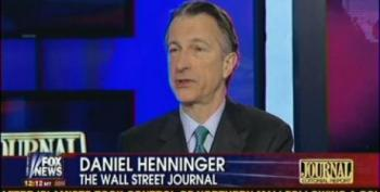 WSJ's Daniel Henninger: Obama Is Like A 'Left Wing Radio Host'