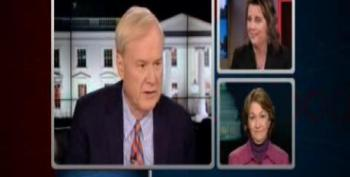 Chris Matthews Backs Anti-Abortion Shill Into A Corner
