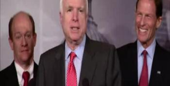 McCain Jokes About Waterboarding John Kerry