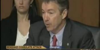 "Rand Paul Calls Benghazi ""Worst Tragedy Since 9/11"""