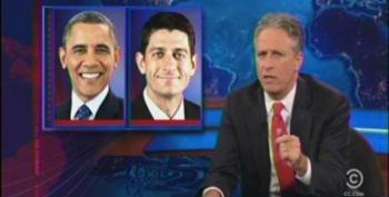 Jon Stewart Takes Apart Ayn Rand Fan-Boy Paul Ryan For Makers Vs Takers Claptrap