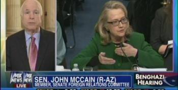 McCain Accuses Clinton Of Having An 'Adoring Media'