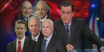 Colbert Slams GOP 'Weenies' For Proving They Suck At Their Jobs During Benghazi Hearings