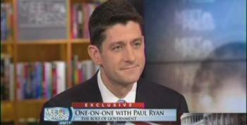 Paul Ryan: Calling Out My Hypocrisy On 'Entitlements' Is A 'Straw Man Argument'