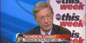 Martha Raddatz Shuts Down George Will Over Women In Combat