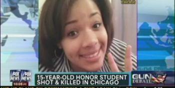 Fox News Uses The Death Of 15 Year Old Hadiya Pendleton To Attack Gun Control