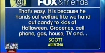 Fox Suggests Welfare Queens Responsible For Obama's High Popularity
