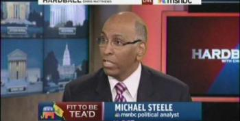 Chris Matthews Allows Michael Steele To Suggest He's Not Going To Collect  His Social Security Benefits