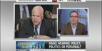 No Tony Fratto, 'Both Sides' Don't Have Someone Who Acts Like John McCain