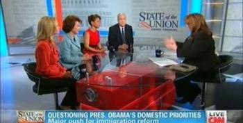 CNN Fails To Disclose Chao Married To McConnell As She Slams Obama's 'Far-Left Agenda'