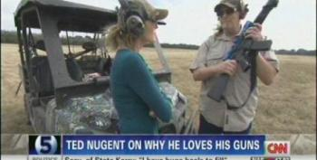 CNN Praises Ted Nugent For His 'Deep Connection With The Facts' On Gun Violence