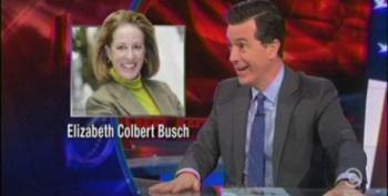 Colbert Touts Sister's House Bid In South Carolina