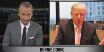 Bill Maher Blasts Donald Trump For Suit Over Orangutan Joke