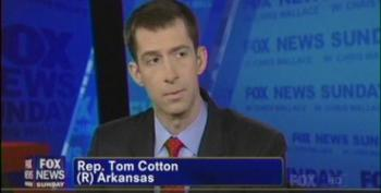 Rep. Tom Cotton Says ISIS And Mexican Cartels Collaborating To Invade Arkansas