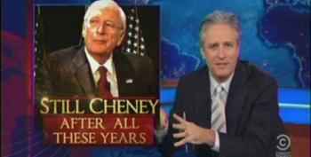 Jon Stewart: Every Time Cheney Laughs, An Angel Gets Stabbed In The D*ck
