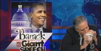 The Daily Show: Barack And The Giant Speech