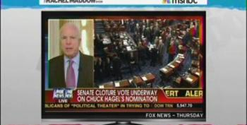 Rachel Maddow Takes On John McCain For History Revisionism On Iraq