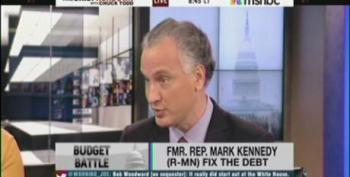 Chuck Todd Does Another Infomercial For The 'Fix The Debt' Crew