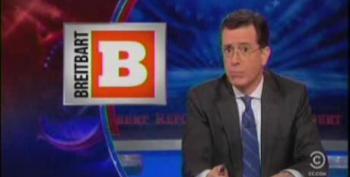 Stephen Colbert Takes Apart Breitbart For 'Friends Of Hamas' Debacle