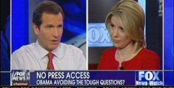 Fox Faux Democrat Powers: Wallace 'Should Be Proud' President Won't Go On His Show