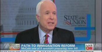 McCain: I'm 'Proud' Of Debate At Town Hall Meetings