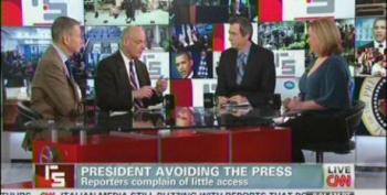 Reliable Sources Panel Continues Media Whinefest Over Lack Of Access To President