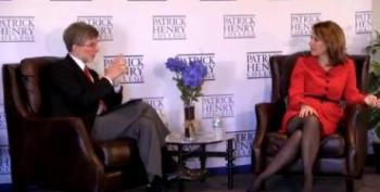 Meet Michele Bachmann, Virtual Wikipedia