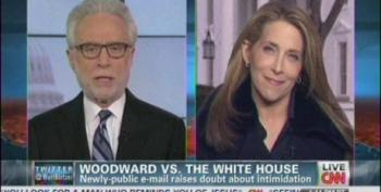 Blitzer On Woodward Threat Claim: 'Maybe This Whole Sidebar Is Being Overblown?'