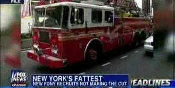 Fox Blames Minorities For Obesity In NYC Firefighter Recruits