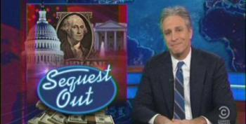 Jon Stewart Likens The Sequester To Auto-Eroticism