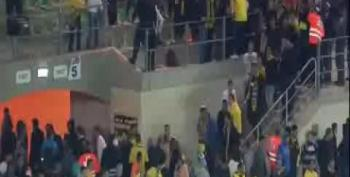 Racist Israeli Soccer Fans Walk Out After Their Own Muslim Player Scores